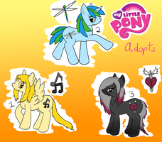 MLP Adopts 2 --CLOSED-- by NegativeDiamond