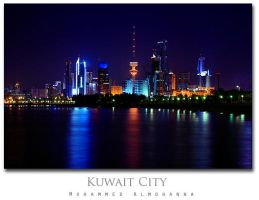 Kuwait City by pisces-art