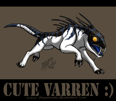 ME fan art VARREN by ShayarosEis