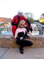 Dante and Trish Cosplay by SalenaB
