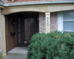 Porch Trim Replacement by Hearte42