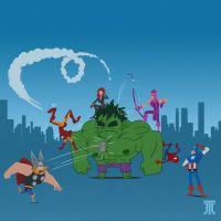 Keep Calm and Hulk On by Kuroart
