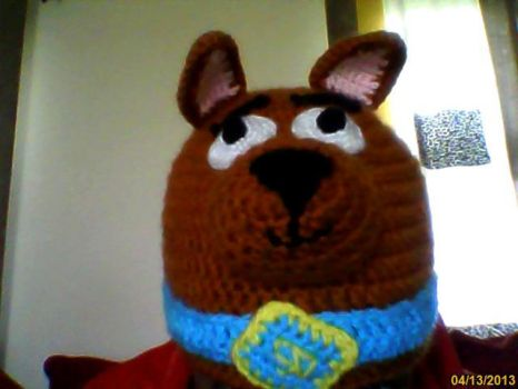 Crocheted Scooby Doo Hat by AMTMGIRL