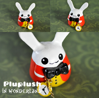 Pluplush White Rabbit by Superpluplush