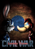Looney Tunes: Civil War by TheBRStory