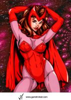 Scarlet Witch 2 by G Blair by Mythical-Mommy