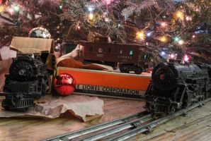 Engines From Chrismas Past by CSX5344