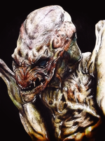 Pumpkinhead by monkeyswithbrushes