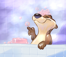 Bubble Bath time for Ryan by Seizthemoment
