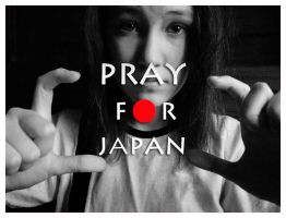 Pray for Japan by alinayeah