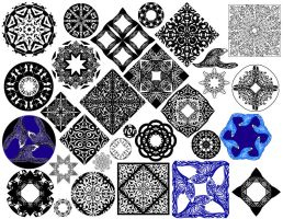 Patterns for Fun 01 by Spirallee