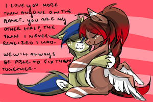 Everything is friendship and nothing hurts! by DafinasPride