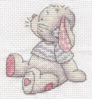 Somebunny to Love cross stitch by Lil-Samuu
