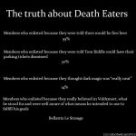 The Truth About Death Eaters by Juliabohemian
