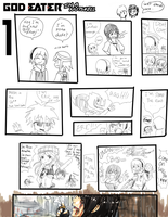 God Eater in a Nutshell 'Redrawn' pg 1 by Gurrenken
