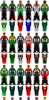 TRIAL - DX Rider Keys by Zeltrax987