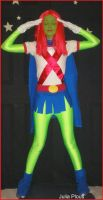 Miss Martian Cosplay 3 by Sner2000