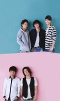 KAT-TUN Wink up 2012.09 Cellphone wall by riorval