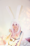 Bunny Smile - SUPER SONICO COSPLAY by HaineYume