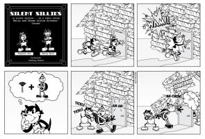 Silent Sillies - Wally and the 3 kittens - Straw by JK-Antwon