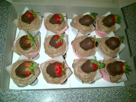 Chocolate Mousse - Strawberries by Lucrecia1511