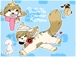 -. Pewdiepie themed character auction .- by Chili-Doge
