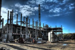 Construction Site 2 HDR by Joppiz