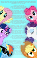If I could be a pony for a day... by FacelessSoles