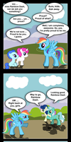 MLP:FIM Rainbow Daze by PerfectBlue97