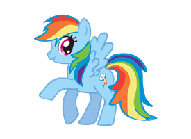 Rainbow Dash by CuteCupcakes3