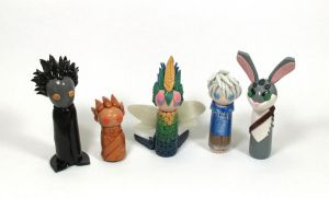 Wobbles: Rise of the Guardians Group by okapirose