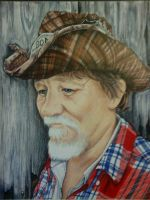 My dad by prismacolorjessie