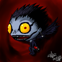 Toon Ryuk by art-ikaro