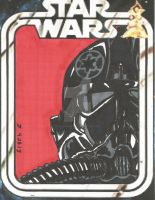 Tie Pilot sketch card 2 by HooliganAlley