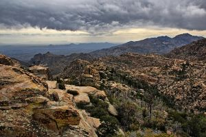 Mount Lemmon Vista by ariseandrejoice