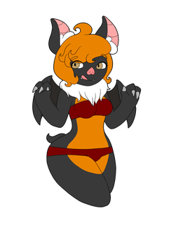 Sexy Bat by Scribbles03