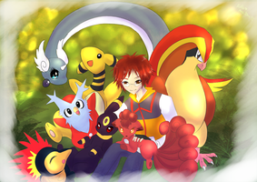 My pokegang by littlepolka