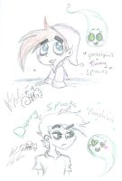 Nicktoons Spooks Pooshpin's  by Kittychan2005