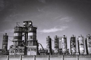steel architecture by shtrumf