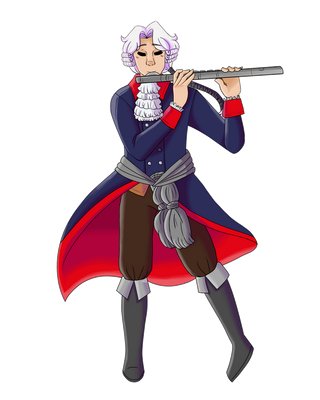 Frederick the Great by StarryPancake