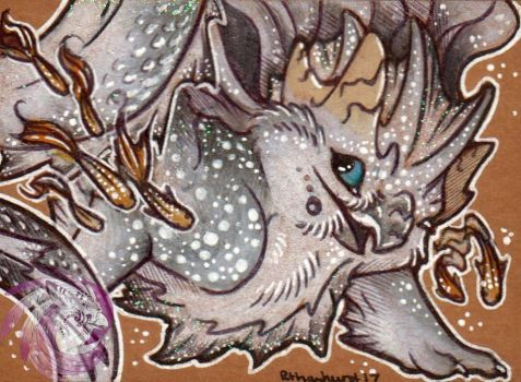 Sharkfin ACEO by Idlewings