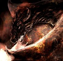 The Dragon Diaval by maitaiyaki