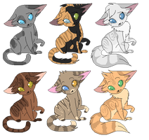 Mystery Cat Adopts #2 | CLOSED by Bay-fire