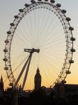 London Eye and Big Ben by shravanvv