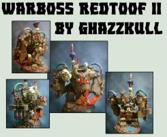 Warboss Redtoof the Second by Dgs-Krieger