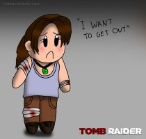 TOMB RAIDER - Lara Croft ''I Want To Get Out'' by Irishhips