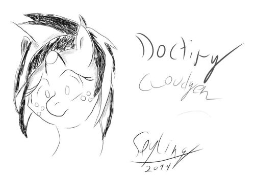 Doctiry Sketch attempt by Spyling