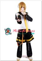 Vocaloid Kagamine Len Cosplay Costume by miccostumes