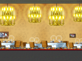 Restaurant 3D BG by LuciferJ