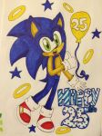 Happy 25th Sonic!! by Serene-Snowflakes